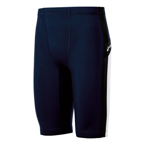 Mens ASICS Anchor Fitted Shorts - Navy/White XS