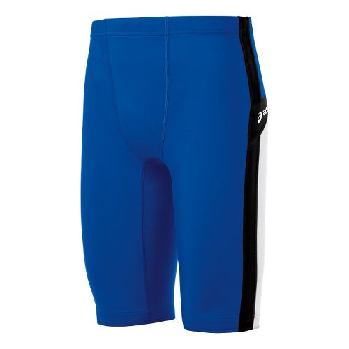 Mens ASICS Anchor Fitted Shorts - Royal/White M