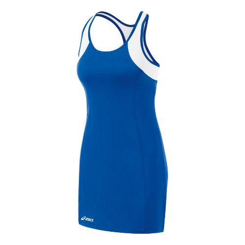 Womens ASICS Love Dress Fitness Skirts - Royal/White XS