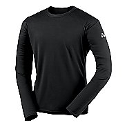 Mens ASICS Circuit-7 Warm-Up Shirt Long Sleeve No Zip Technical Tops