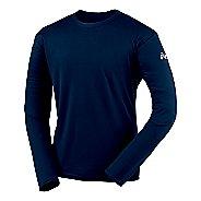 Mens ASICS Circuit-7 Warm-Up Shirt Long Sleeve No Zip Technical Tops