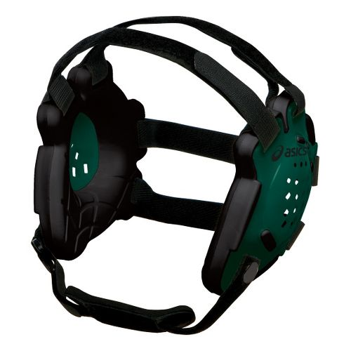 ASICS Conquest Earguard Headwear - Forest/Black