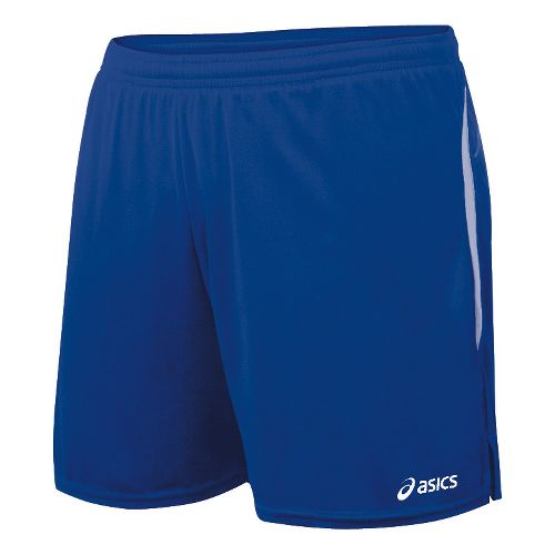 Womens ASICS Interval Lined Shorts - Royal/White XS