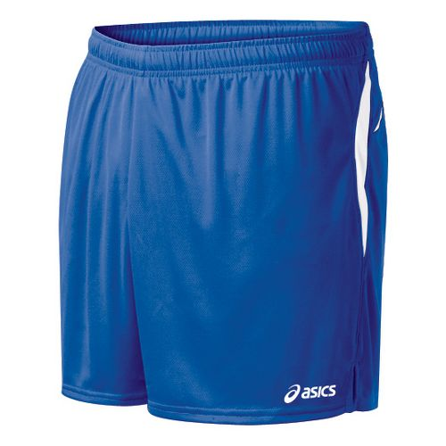 Mens ASICS Interval Lined Shorts - Royal/White L