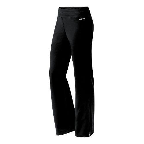Womens ASICS Jone-Z Full Length Pants - Black MT
