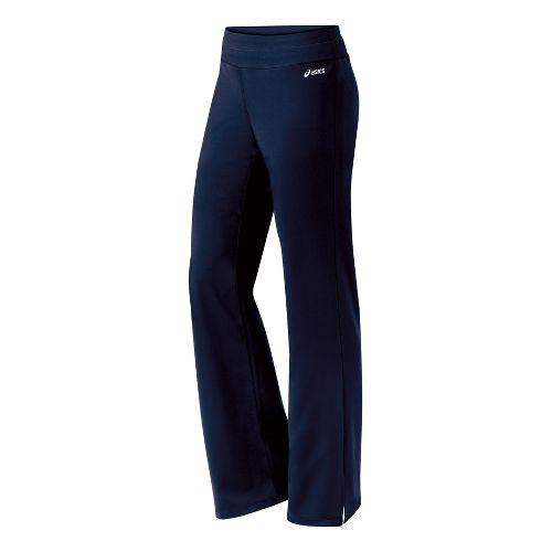 Womens ASICS Jone-Z Full Length Pants - Navy XS