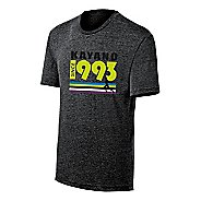 Mens ASICS Kayano 1993 Tee Short Sleeve Technical Tops