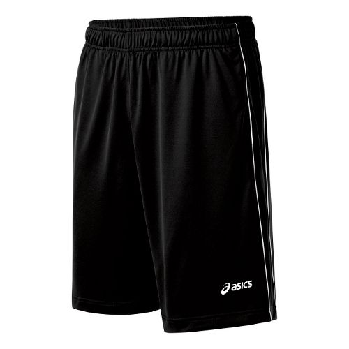 Mens ASICS Kalani Unlined Shorts - Black/White M