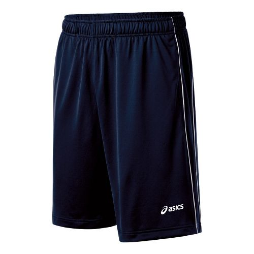 Mens ASICS Kalani Unlined Shorts - Navy/White M