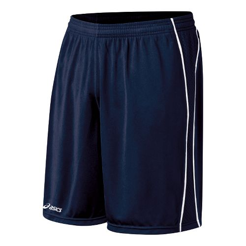 Mens ASICS Tango Lined Shorts - Navy/White 2X