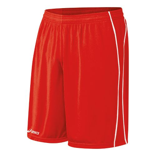 Mens ASICS Tango Lined Shorts - Red/White L