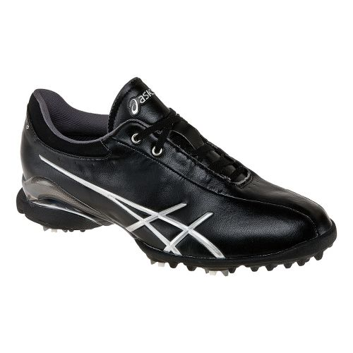 Womens ASICS Lady GEL-Ace Thea Casual Shoe - Black/Silver 8.5