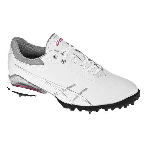 Womens ASICS Lady GEL-Ace Thea Casual Shoe - White/Silver 11