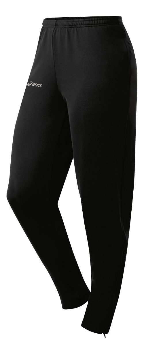 Womens ASICS Aptitude 2 Run Full Length Pants - Black XS