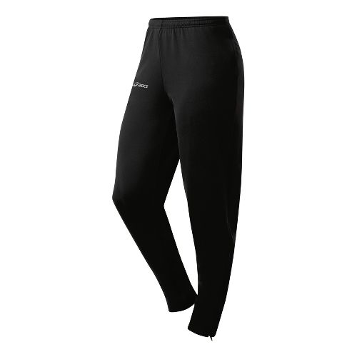 Womens ASICS Aptitude 2 Run Full Length Pants - Black XL