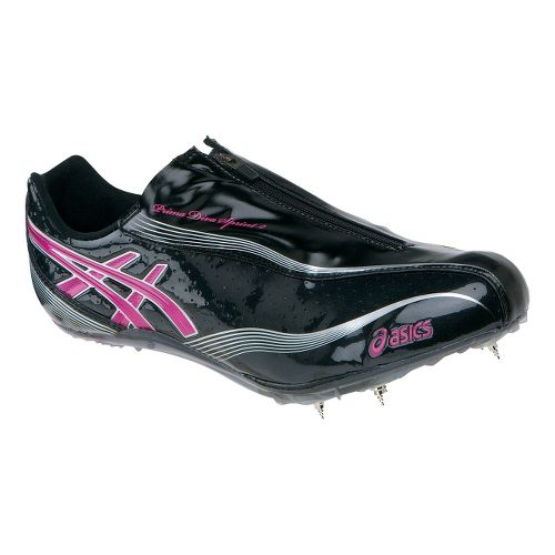 Womens ASICS Prima Diva Sprint 2 Track and Field Shoe - Titanium/Fuchsia 8.5