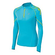 Womens ASICS Speed Long Sleeve 1/2 Zip Technical Tops