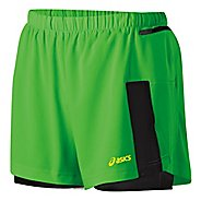 Womens ASICS Fuji 2-in-1 Shorts