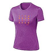 Womens ASICS Love2Run Tee Short Sleeve Technical Tops
