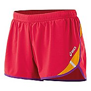 "Womens ASICS Split 3"" Lined Shorts"