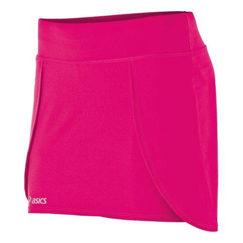 Womens ASICS PR Skort Fitness Skirts - Magenta S