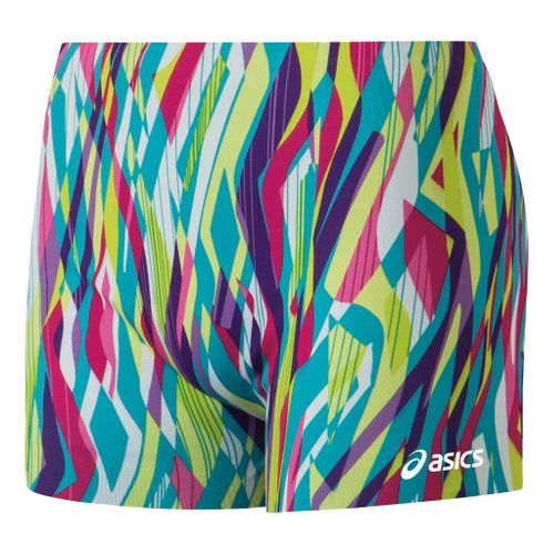 Womens ASICS Oblivious Reversible Unlined Shorts - WOW/White L