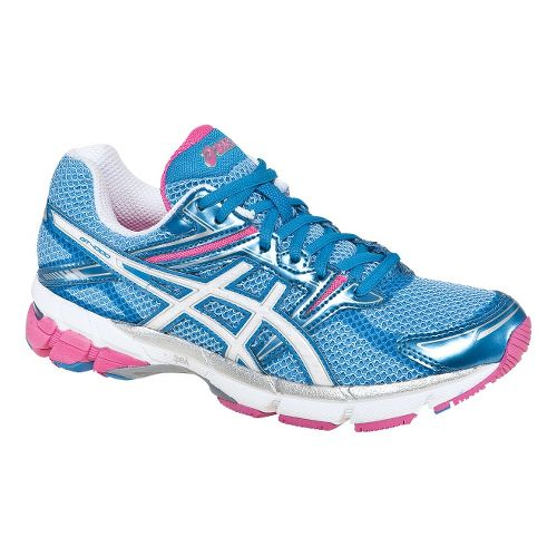 Womens ASICS GT-1000 Running Shoe - Island Blue/White 7.5