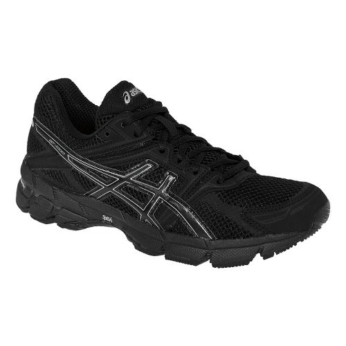 Womens ASICS GT-1000 Running Shoe - Onyx/Lightning 12.5
