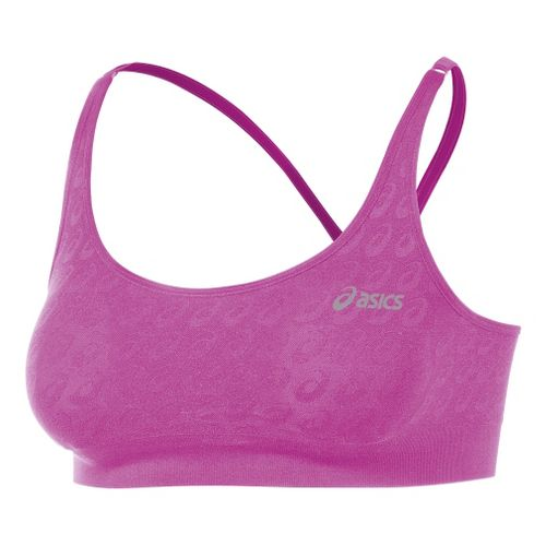 Womens ASICS ASX Seamless Sports Bras - Neon Purple XS/S