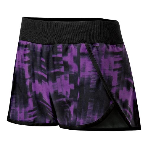 Womens ASICS Abby Lined Shorts - Electric Purple S