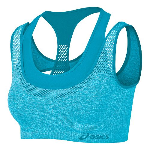 Womens ASICS Pure Seamless Sports Bras - Bluebird S/M