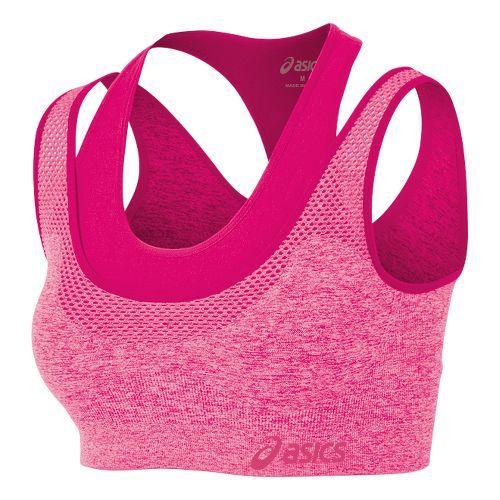 Womens ASICS Pure Seamless Sports Bras - Magenta L/XL