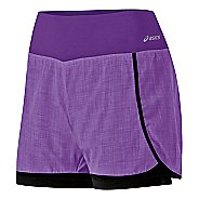 Womens ASICS Pure 2-in-1 Shorts