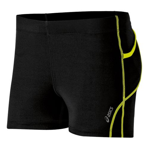 Womens ASICS Pure 2.5 Unlined Shorts - Electric Lime XL