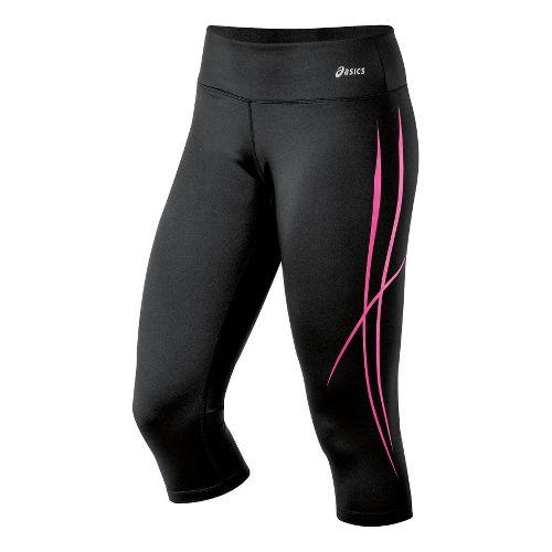 Womens ASICS Pure Capri Tights - PinkGlo XL