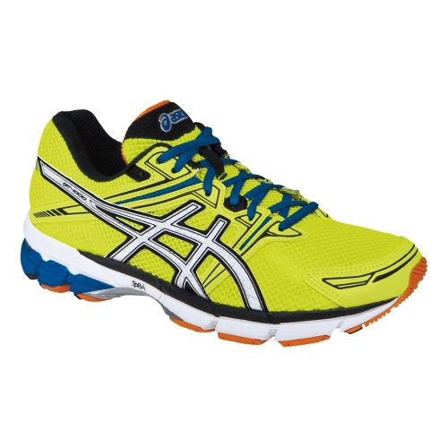 Mens ASICS GT-1000 Running Shoe - Highlighter Yellow/White 9.5