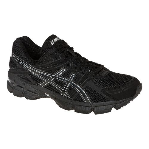 Mens ASICS GT-1000 Running Shoe - Onyx/Lightning 9.5