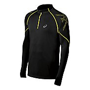 Mens ASICS Speed Long Sleeve 1/2 Zip Technical Tops