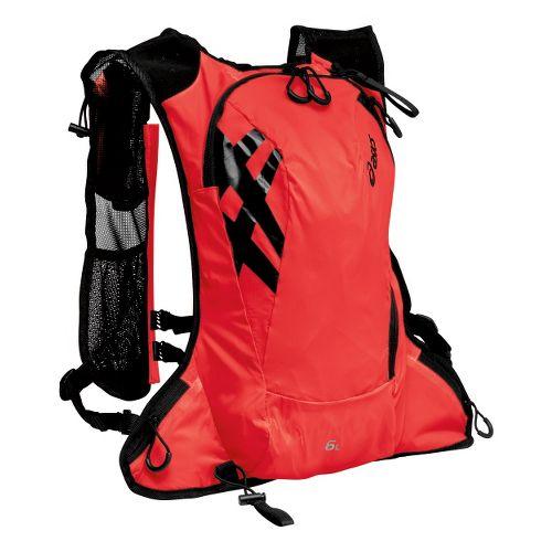 ASICS FujiTrail Backpack Bags - Fiery Flame