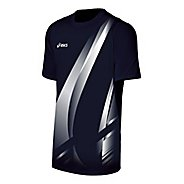 Mens ASICS Put Away Jersey Short Sleeve Technical Tops