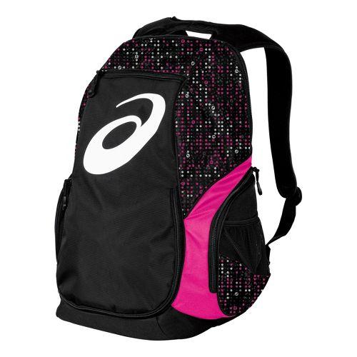 ASICS Aggressor Backpack Bags - PinkGlo/Black