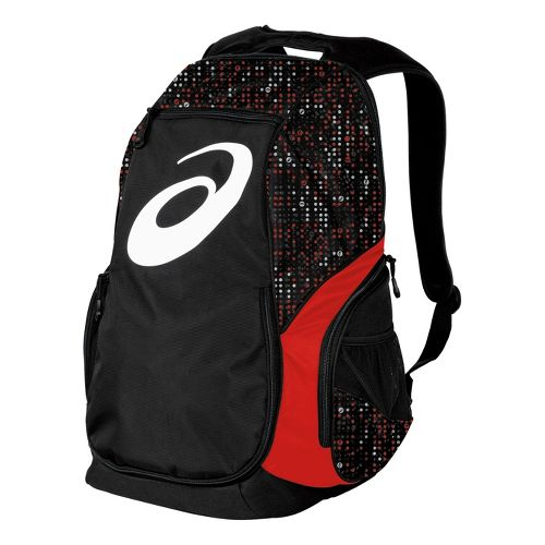 ASICS Aggressor Backpack Bags - Red/Black