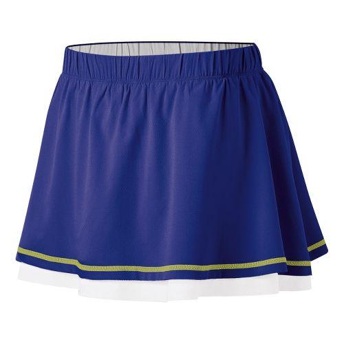Womens ASICS Advantage Skort Fitness Skirts - Blueberry M