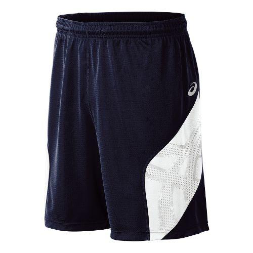 Mens ASICS Team Performance VB Shorts - Navy/White XXL
