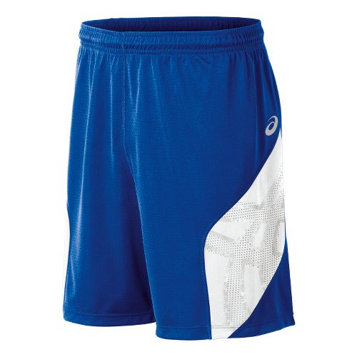 Mens ASICS Team Performance VB Shorts - Royal/White M