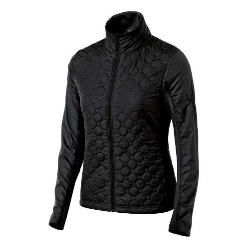 Womens ASICS Thermopolis Windblocker Running Jackets - Black XL