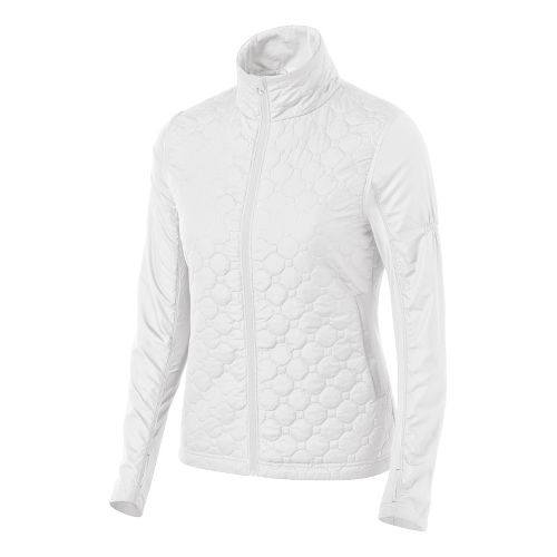 Womens ASICS Thermopolis Windblocker Running Jackets - White M