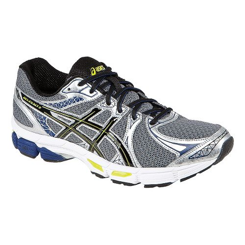 Mens ASICS Gel-Exalt 2 Running Shoe - Charcoal/Black 14