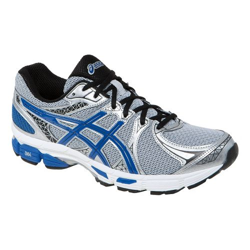 Mens ASICS Gel-Exalt 2 Running Shoe - Lightning/Royal 6.5