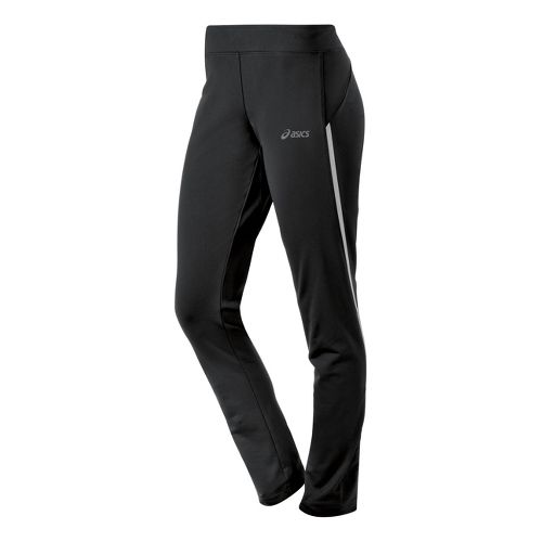 Womens ASICS Thermal XP Slim Full Length Pants - Black XL